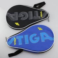 Stiga Single Bat Case with 3 ball holder