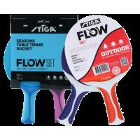 Stiga Flow outdoor Table Tennis Bat Set
