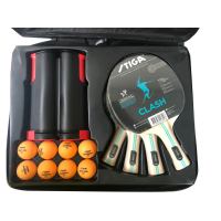 Stiga 4 Player Set with Net and Post