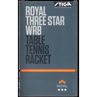 Stiga Royal 3 Star WRB Table Tennis Racket