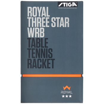 Stiga Royal 3 Star WRB Table Tennis Racket