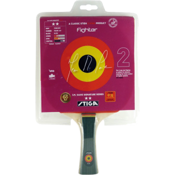 Stiga Fighter  Table Tennis Racket .ITTF approved
