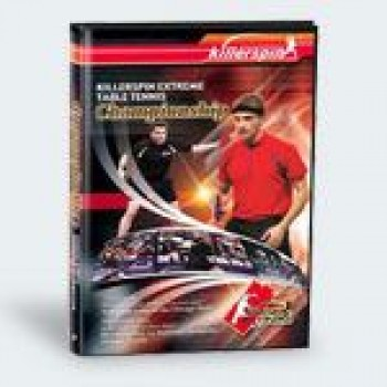 Killerspin Extreme Table Tennis Championship DVD