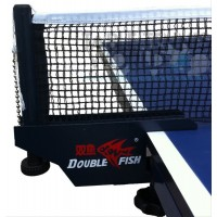 Double Fish International ITTF App Screw Type Net/Post Set