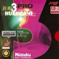 Nittaku 3 Pro Hurricane Rubber