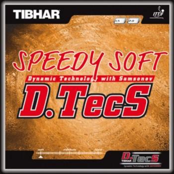 Tibhar Speedy Soft D.Tecs Rubber