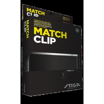 Stiga Match Clip Net and Post Set 637500