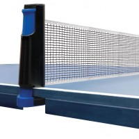 Retractable Plastic Table Tennis Net & Post Set