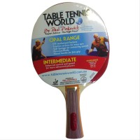 Table Tennis World Opal Range - Intermediate Bat