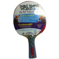 Table Tennis World Opal Range - Tournament bat