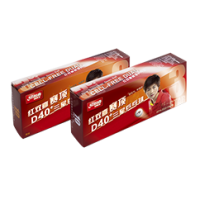 Double Happiness D40+ 3 Star ABS Table Tennis Balls pk10
