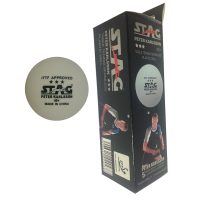 Stag 3 Star Peter Karlsson 40+ Plastic Ball Seamless 3pk