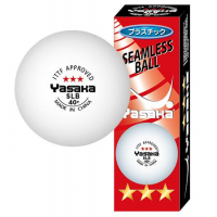 Yasaka Seamless Table Tennis Ball - 3 Pack