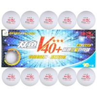 Double Fish 3 Star V40 + Table Tennis Balls