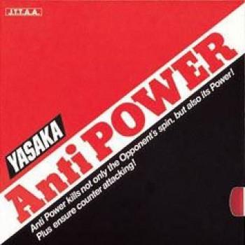 Yasaka Anti Power rubber